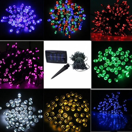 60/100 LED String Solar Light Garden Outdoor ...