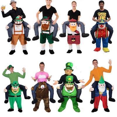 Carry Me Bavarian Beer Guy Ride On Oktoberfest Mascot Fancy Christmas Costume (Fancy Me Costumes)