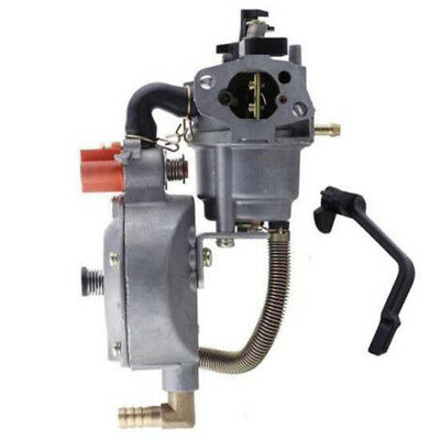 Carburetor Carb Fitts168F GX160 Dual Fuel Aut choke LPG NG Petrol Water Pump Kit