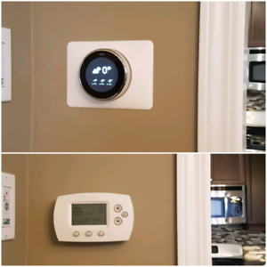Nest Learning Thermostat 5 year warranty Installed! Best Deal.