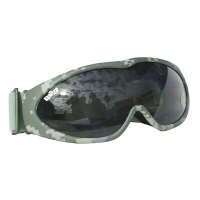 Deluxe Softair Schutzbrille Airsoft Safety-Brille - camo