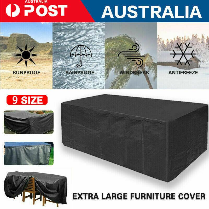 Garden Furniture - Outdoor Waterproof Furniture Cover Patio Garden Rain Snow UV Table Sofa Couch
