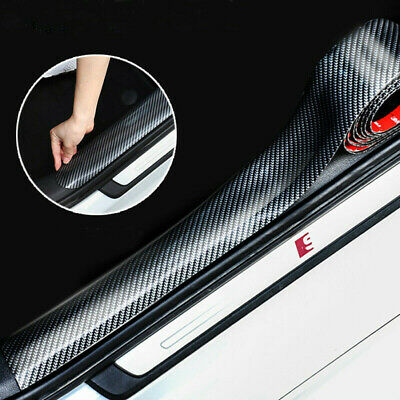 Car Parts - Parts Accessories Carbon Fiber Vinyl Car Door Sill Scuff Plate Sticker Protector