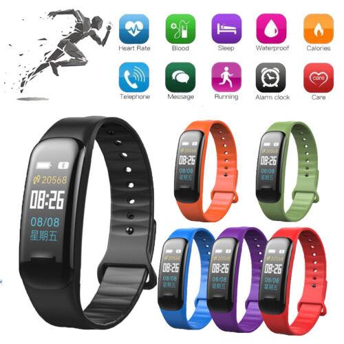 Sports Blood Pressure/Oxygen Heart Rate Fitness Smart Watch