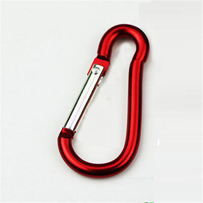 ON SALE! Aluminum Carabiner D-Ring Key Chain Clip Hook Nonlocking Carabiners 3pc