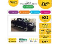 MITSUBISHI L200 2.4 2.5 DI-D BARBARIAN CrewCab WARRIOR 4 LIFEFROM £57 PER WEEK!