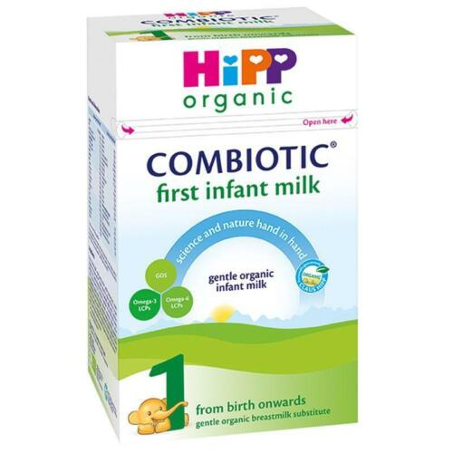 1 Box HiPP Organic Combiotic Infant Milk - Stage 1 UK Version- 800g
