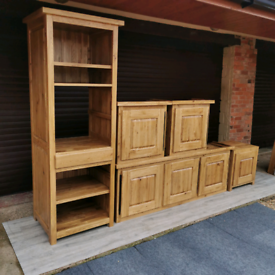 Carlton Derwent 100% Solid Oak Kitchen Units & Oven Housing Cabinet