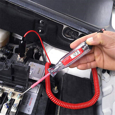 Universal Automotive Lcd Digital Circuit Tester Voltage Meter Pen Voltmeter Car