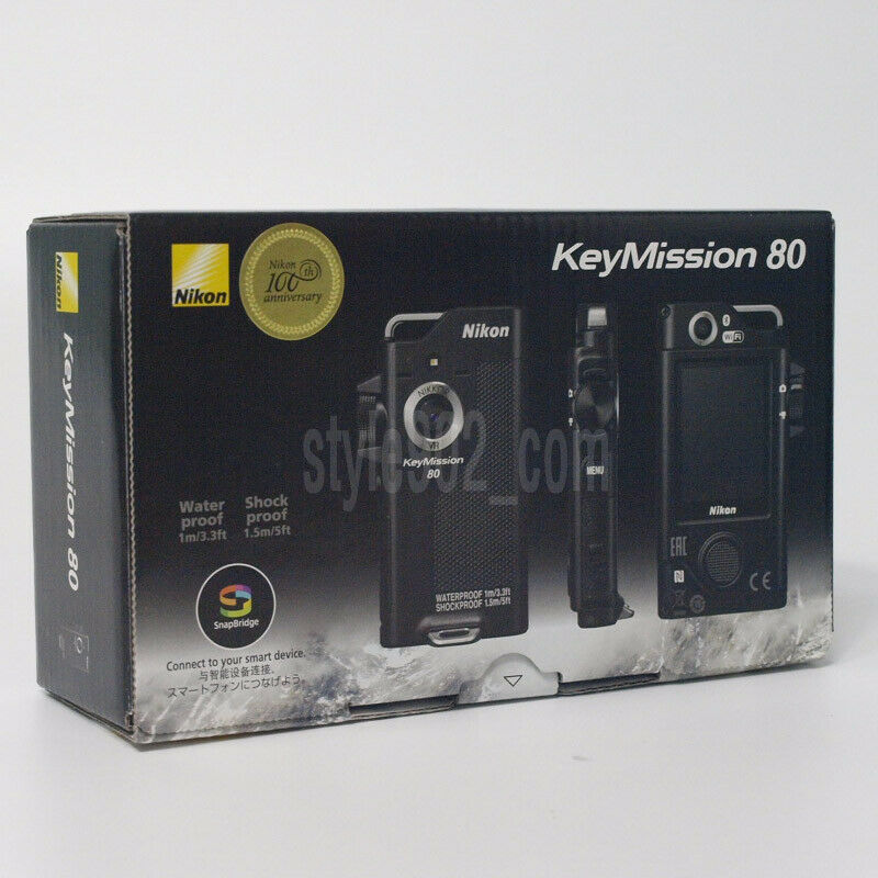 как выглядит Original Nikon KeyMission 80 Camcorder Action Cam - Black фото