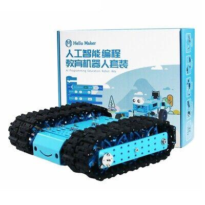 Robot Crawler Kit Swing Arm Rc Tracked Crawler Programming Robot Unassembled