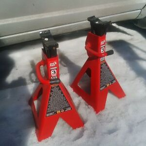 Big Red pump jack and stands