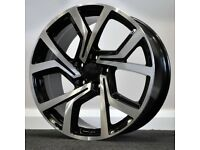 "19"" Club Sport Style Alloy Wheels. Seat Leon, Audi A3. VW Passat, Jetta, Golf MK5, MK6, MK7,Caddy"