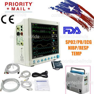 Fda Multi Parameter Icu Ccu Patient Monitor Ecgnibpspo2resptemppr Contec Us