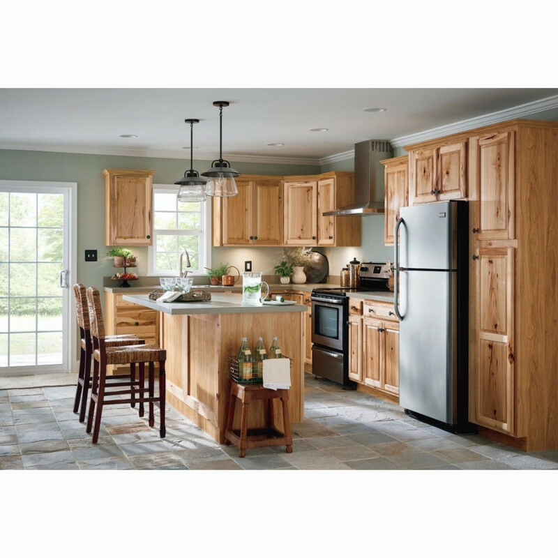 Kitchen Cabinets Denver Co: Hickory Kitchen - Free Microwave
