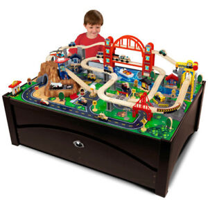 Kid Craft Train table - converts to coffee table