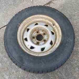 Winter tires and rims $350. Open to trades.