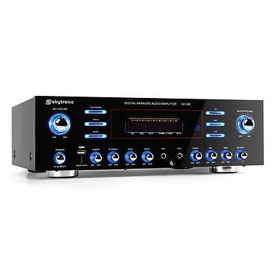 Hifi PA Verstärker Endstufe 5 Kanal Stereo Amplifier Karaoke Mikrofon USB MP3