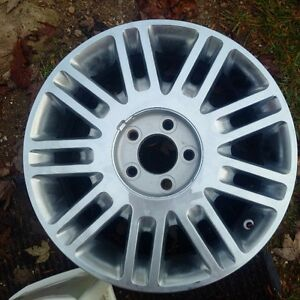 Four Brand NEW 17 Chrome Rims for sale or trade Kitchener / Waterloo Kitchener Area image 1