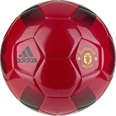 (adidas Capitano 2018 - 2019 Soccer Ball Manchester United Edition New Red Size 5)