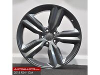 "20"" RS4 Style Alloy wheels (Gunmetal) and Tyres. Suit Audi A4, A5 & A6 (5x112)"