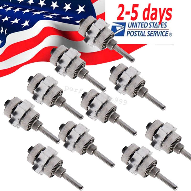 【10pc】Denshine Dental  ≥400,000RPM Standard Turbine/Cartridge for Push Handpiece