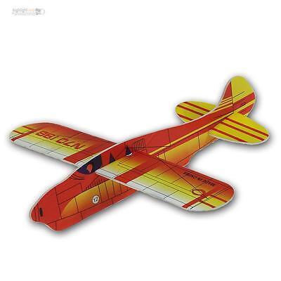 Styroporflieger Styroporflugzeug 18x19 cm Flugzeug Bausatz Geburtstag Flieger