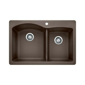 Blanco 400343 Diamond 1.75 Double Drop In Kitchen Sink