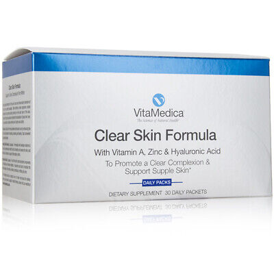 Vitamedica Clear Skin Vitamin Supplement for Acne W/Vitamins A, C & E Plus Zinc