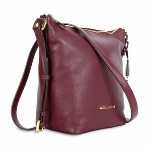 Michael Kors Bedford Messenger Bag - Maroon Colour - BNIB