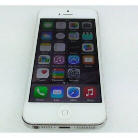 iphone 5 can unlocked open o2 02 tesco any giff gaff white silver