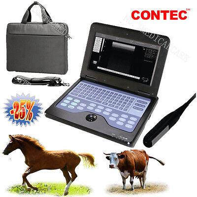 Vet Veterinary Ultrasound Scanner 7.5 Rectal Probe Portable Laptop Machine