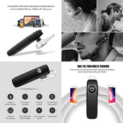 Best Bluetooth Headset Earpiece Noise Reduction Mic And Mute Switcher