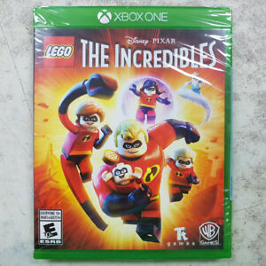 Lego The Incredibles Xbox One Game - NEW