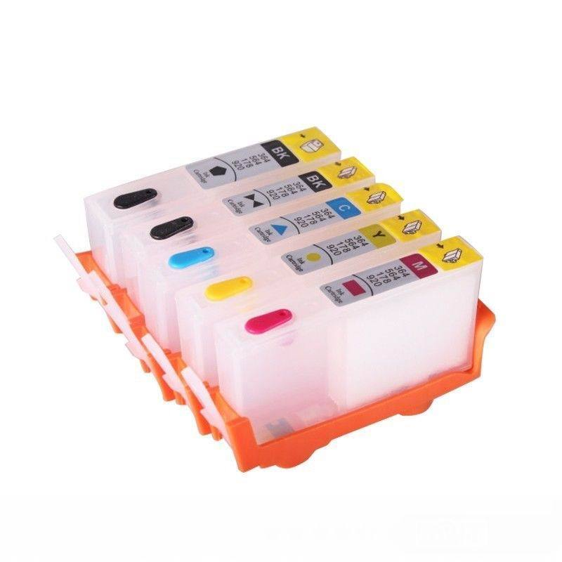 5P Combo set empty Refillable ink for HP 564 564xl