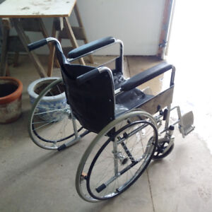 Transfer Style WheelChair Plus Cane and >>>