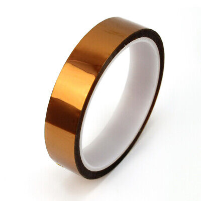 20mm 100ft Cinta Adhesiva Kapton Resistancia Calor 260°C Accesorio Práctico