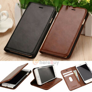 Iphone 6,7 Luxury leather magnetic flip wallet case