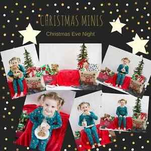 Christmas Mini Photography Sessions (5 theme choices) London Ontario image 1