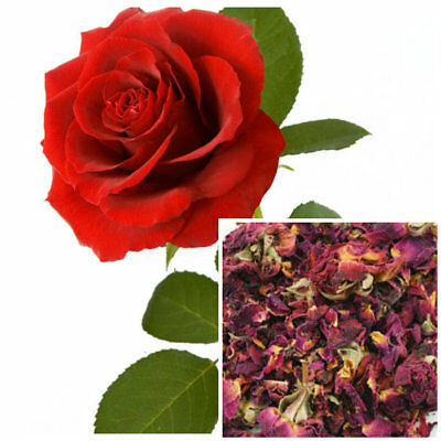 Red Rose Soap (Red Rose Buds & Petals, organic, soap making supplies, herbal)