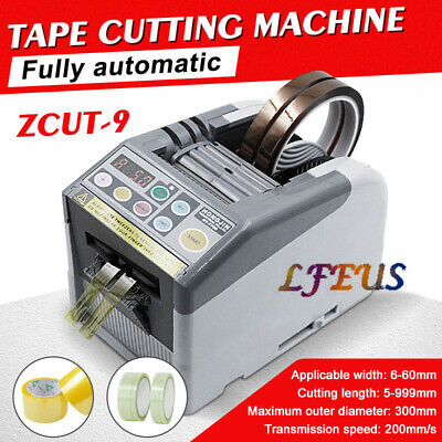 Zcut-9 Automatic Electric Tape Dispenser Double-sided Tape 110v Cycle Us Stock