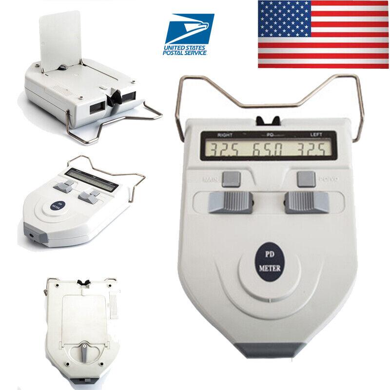 LCD Optometry Digital Optical Pupilometer PD Pupil Meter Ophthalmic Measurement