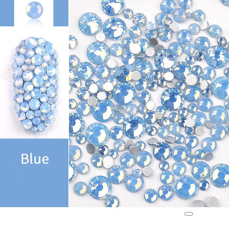 1 Bag Blue Opal Rhinestones