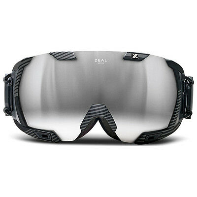 **NEW** Z3 Zeal GPS Ski Goggles (Quantum Black) RRP £340