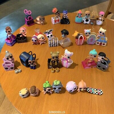 LOL Surprise LiL Sisters L.O.L. QUEEN BEE Punk boi boy SERIES 5 6 Dolls Pet lot - Girl Smurf
