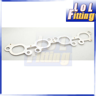 7 LAYER METAL EXHAUST MANIFOLD GASKET SR20DET FIT FOR NISSAN S13 S14 S15