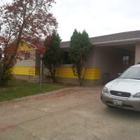 Peace River family home for rent