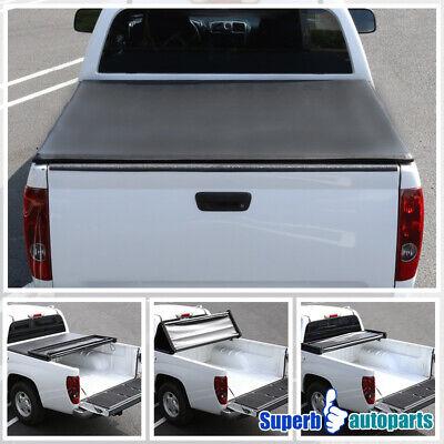 For 2014-2018 Silverado1500 LT Crew Cab TriFold Tonneau Cover 5.8Ft Short Bed