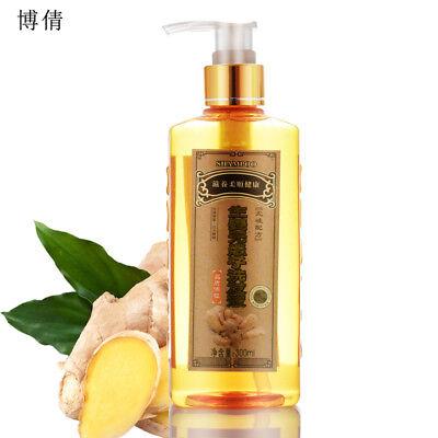 Ginger extract shampoo, hair re-growth dense fast, anti hair loss, nourish scalp