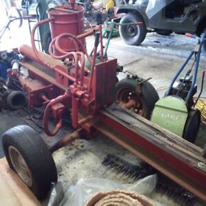 Hydraulic Wood Splitter - Runs Off Tractor Power Take Off.